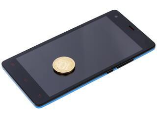 """5"""" Смартфон DEXP Ixion ES350 Rage Plus 8 ГБ синий"""