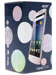 """5"""" Смартфон Acer Z530 16 ГБ белый"""