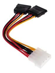 Переходник FinePower Molex - SATA 15pin х2