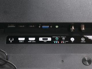 "55"" (139 см)  LED-телевизор DEXP F55B8200K черный"