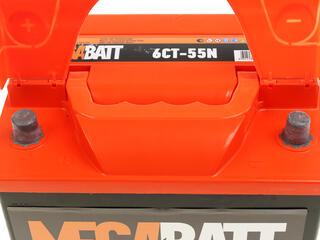 Автомобильный аккумулятор Mega Ватт 6ст-55 N