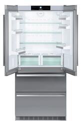 Холодильник с морозильником Liebherr CBNes 6256-23 серебристый