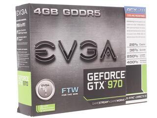 Видеокарта EVGA GeForce GTX 970 FTW GAMING ACX 2.0 [04G-P4-2978-KR]