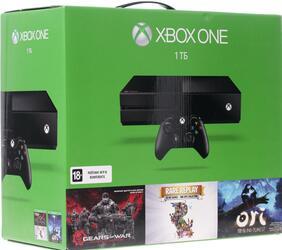 Игровая приставка Microsoft Xbox One 1 Tb + Gears of War Ultimate Edition, Rare Replay, Ori and the Blind Forest