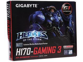 Материнская плата GIGABYTE GA-H170-Gaming 3