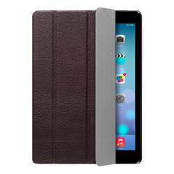 Чехол-подставка Ultra Cover leather и защитная пленка для Apple iPad AIR, коричневый , Deppa