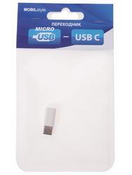 Переходник Noname USB-C - micro USB