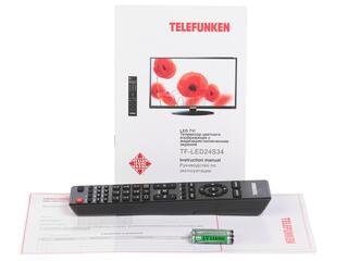 """23.6"""" (59 см)  LED-телевизор Telefunken TF-LED24S34 черный"""
