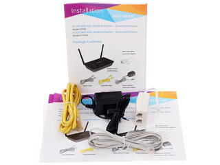 Маршрутизатор ADSL2+ NETGEAR D1500-100