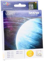 Картридж струйный Brother LC-970Y