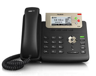 IP-телефон Yealink SIP-T23P черный