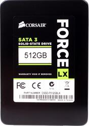 512 ГБ SSD-накопитель Corsair Force LX [CSSD-F512GBLX]