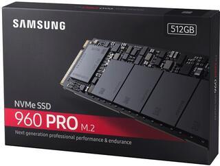 500 ГБ SSD M.2 накопитель Samsung 960 PRO [MZ-V6P512BW]
