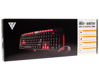 Клавиатура+мышь Gamdias Ares V2 Essential + Demeter V2