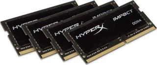 Оперативная память SODIMM Kingston HyperX Impact [HX424S15IBK4/64] 64 Гб