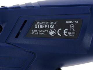 Аккумуляторная отвертка Rolsen RSD-100