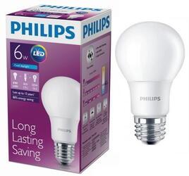 Лампа светодиодная Philips LEDBulb 6-50W E27 6500K 230VA60/PF