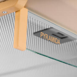Вытяжка подвесная Pyramida WH 20-60 IVORY бежевый
