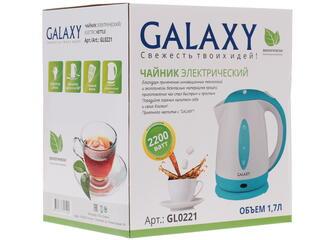 Электрочайник Galaxy GL 0221 голубой