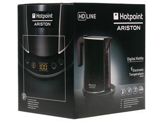 Электрочайник Hotpoint-ariston WK 24E черный