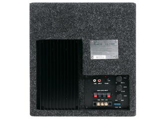 Автосабвуфер активный Kicx ICQ 250BA