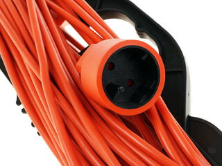 Удлинитель PowerCube PC-L1-R-25 оранжевый
