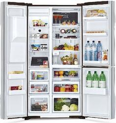 Холодильник Hitachi R-M702 GPU2X MBW коричневый
