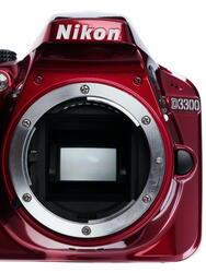 Зеркальная камера Nikon D3300 Kit 18-55mm VR AF-P красный