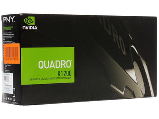 Видеокарта PNY Quadro K1200 [VCQK1200DP-PB]