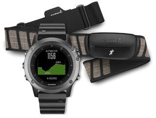 Спортивные часы Garmin fenix 3 HRM - Run черный