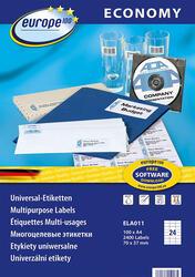 Самоклеящиеся этикетки Europe100 ELA011