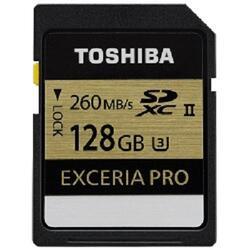 Карта памяти Toshiba EXCERIA PRO SDXC 128 Гб