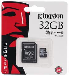 Карта памяти Kingston microSDHC 32 Гб