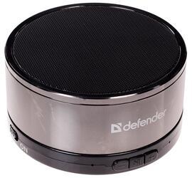 Портативная колонка Defender Quant MonoDrive серебристый