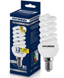 Лампа люминесцентная Hyundai FM/2/10-13W-827-E14