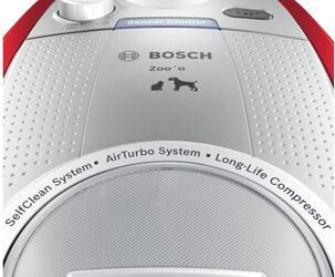 Пылесос Bosch BGS5ZOORU красный