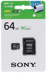 Карта памяти Sony microSDXC 64 Гб