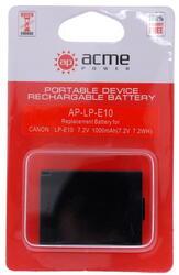 Аккумулятор AcmePower LP-E10