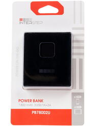 Портативный аккумулятор InterStep PB78002UB черный