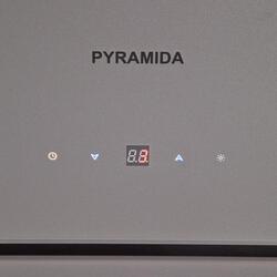 Вытяжка каминная Pyramida HES 30 (C-600 MM) GRAY /AJ серый