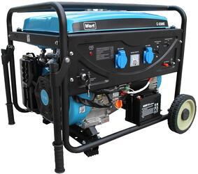 Бензиновый электрогенератор Wert G 6500E