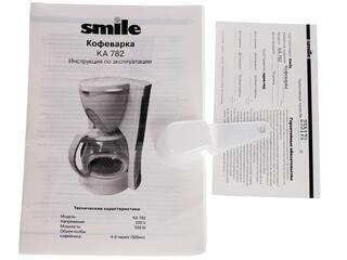 Кофеварка Smile КА 782 белый