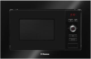 Встраиваемая микроволновая печь Hansa AMM20BESH черный
