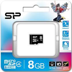 Карта памяти Silicon Power SP008GBSTH004V10 microSDHC 8 Гб