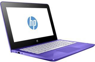 """11.6"""" Ноутбук HP Stream x360 11-ab001ur фиолетовый"""