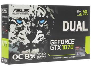 Видеокарта Asus GeForce GTX 1070 DUAL [DUAL-GTX1070-O8G]