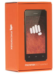 "4"" Смартфон Micromax Bolt Q301 4 Гб серый"
