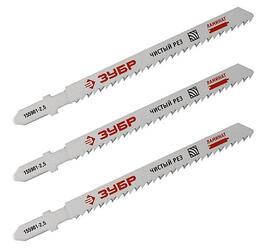 Пилки для лобзика ЗУБР 155901-2.5