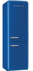 Холодильник с морозильником Smeg FAB32RBLN1 синий