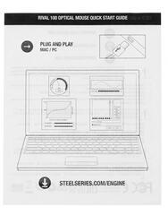 Мышь проводная SteelSeries Rival 100 Gaia